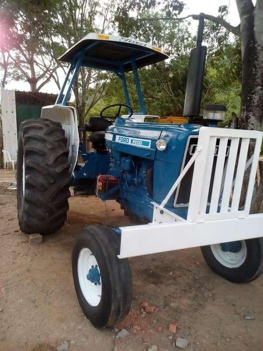 TRACTOR FORD 6600 MODELO 1986, INGLES, CON MANIFIESTO DE ADUANA