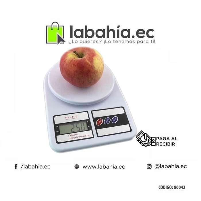 Balanza Digital Gramera Sf400 Para Negocio Hogar De 0.1 A 7kg