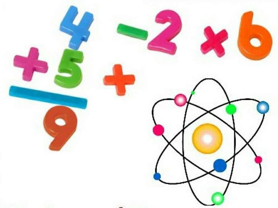 Clases de Química Y Matemática