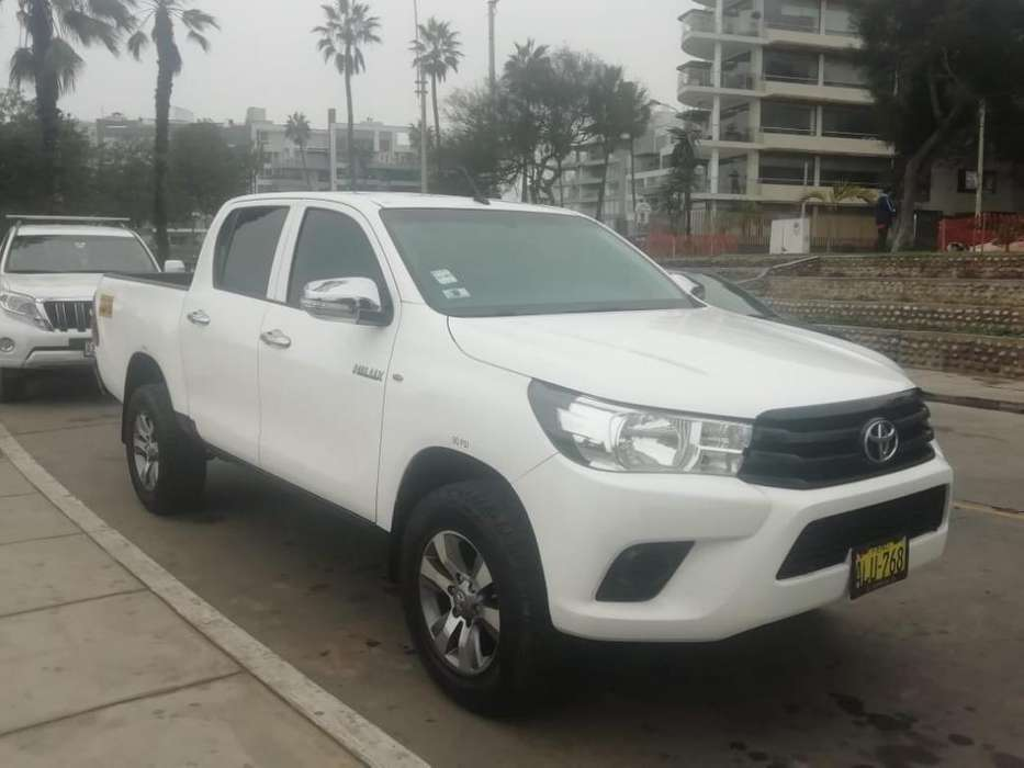 Toyota Hilux 2016 - 58000 km