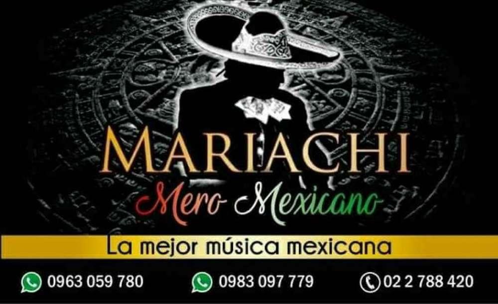 Mariachi Mero Mexicano en Sangolqui Ting