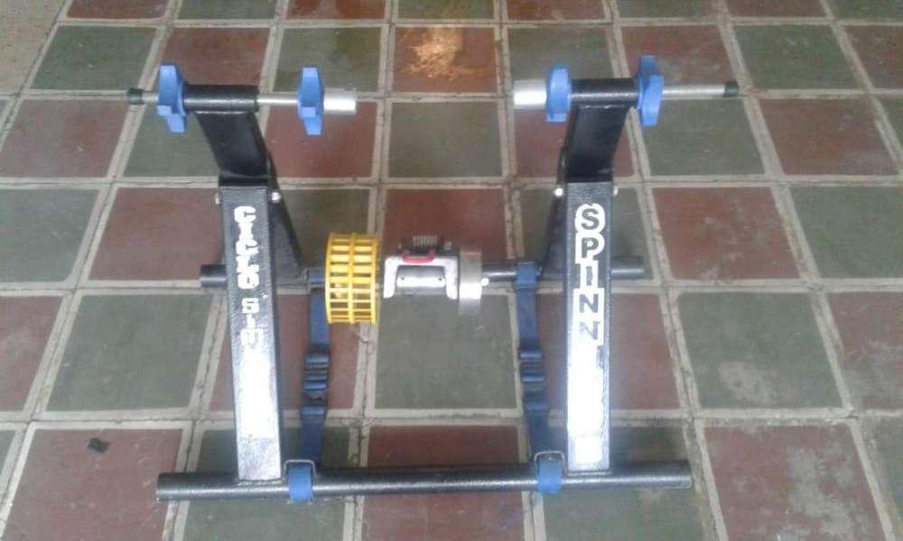 Se Vende Ciclosimulador Spinning Clásico Soporte Bicicleta Estática