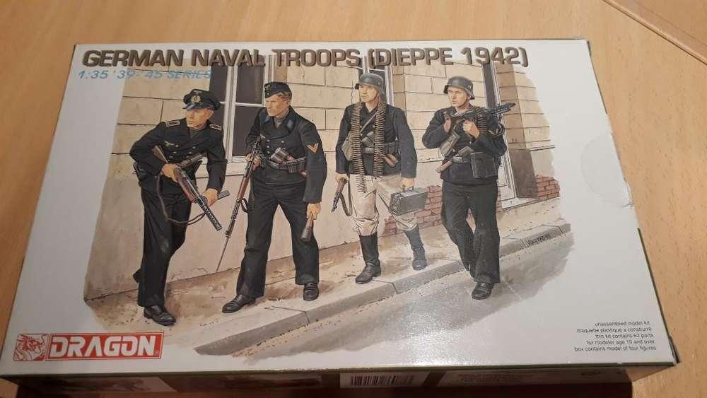 Maqueta 1-35 Dragon Soldados Alemanes
