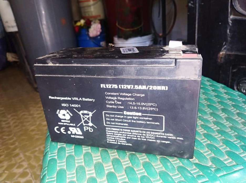 bateria 12v,7Am, 40000, tengo 2 sin uso 3057306324