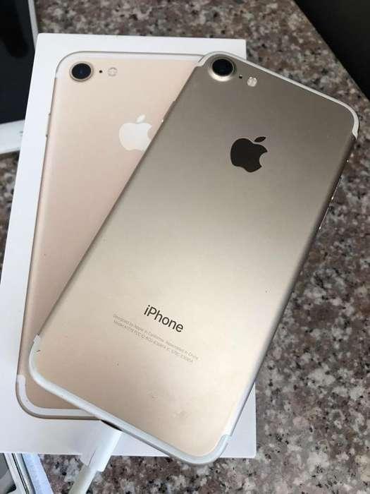 iPhone 7 Dorado 32gb Como Nuevo
