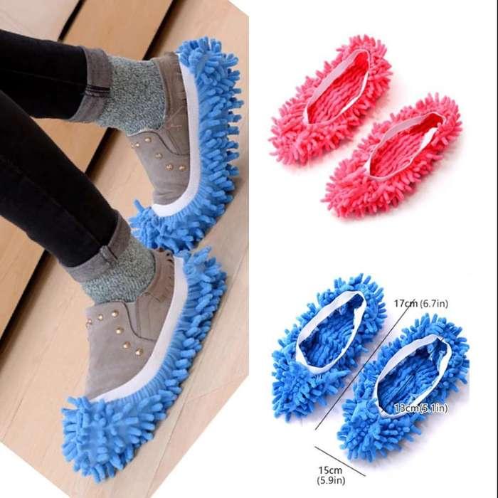 Zapatillas Limpiadoras Microfibra