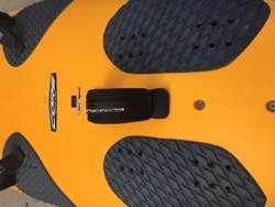 VENDO TABLA DE WIND SURF BIC CORE 148 CASI SIN USO COMPLETA.