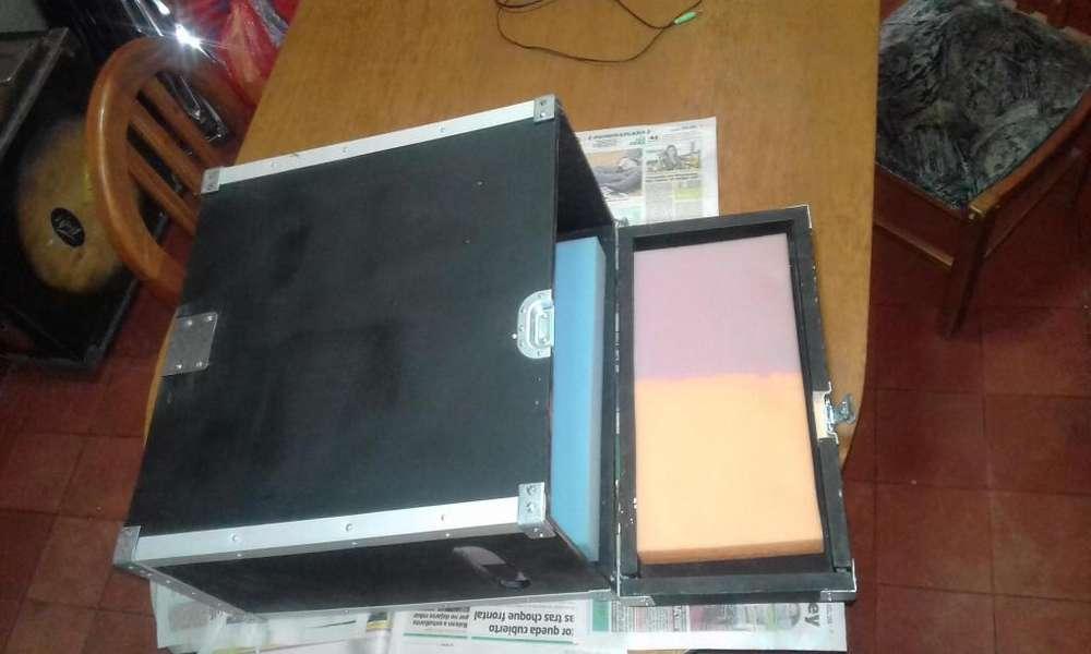 RACK CASE caja de transporte para consola , o amplificador