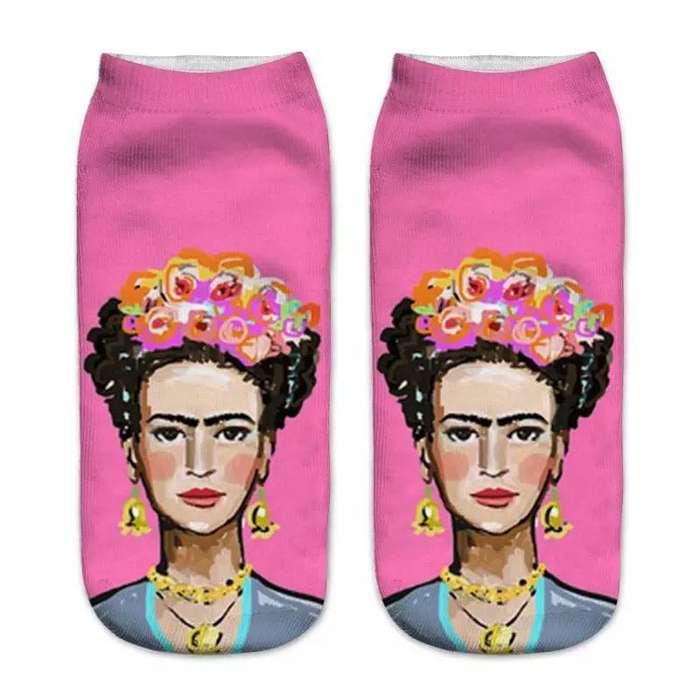 Medias tobilleras Frida Kahlo