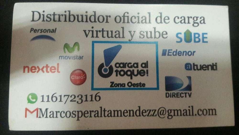 Servicio de Carga Virtual Y Carga Sube