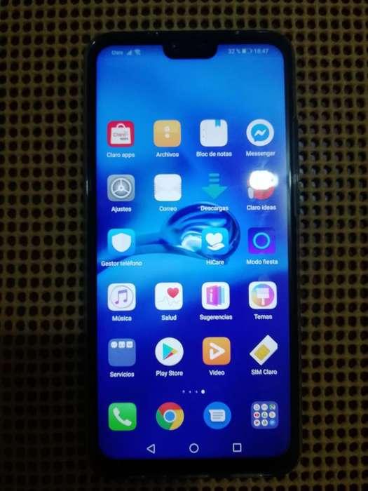 celular Y9 2019 un mes de uso como nuevo, <strong>barato</strong>