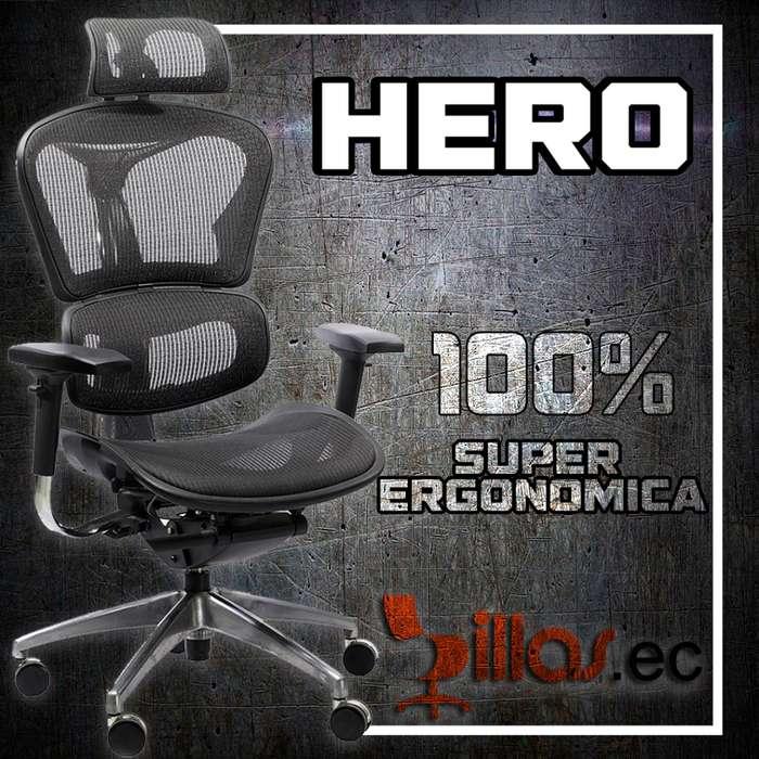 silla ergonómica gerencial