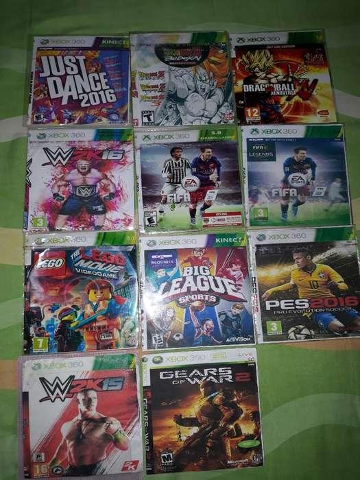 11juegos de Xbox 360 5.0 por Solo 10 Mil