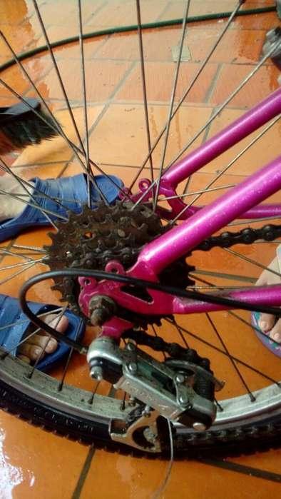 Se Vende Bicicleta Pará Niña de Cambios