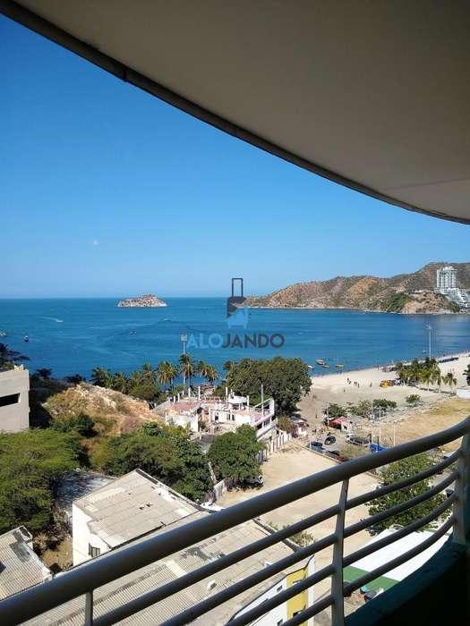 Alquilo aparta-<strong>estudio</strong> VIP por días en rodadero, 4 personas max 20 mts de playa, piscina