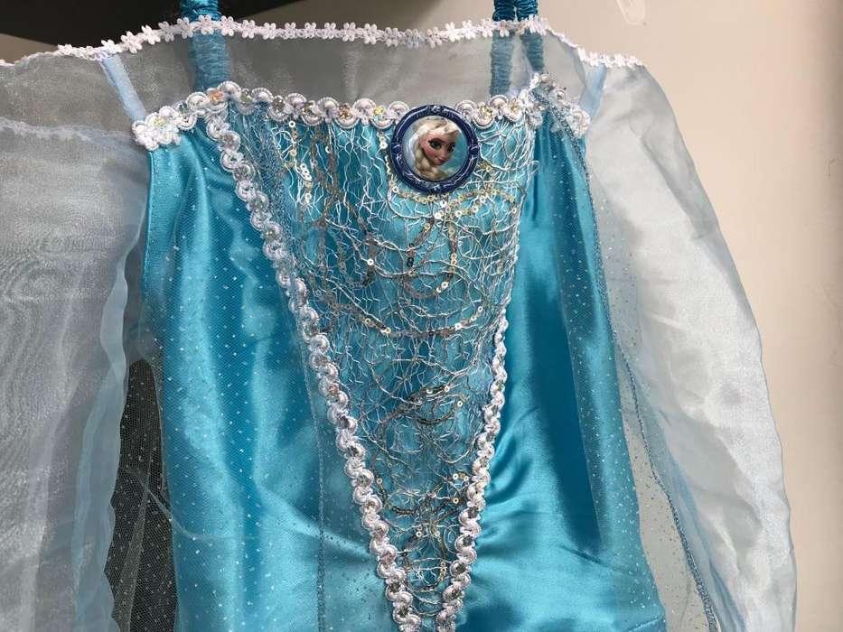Disfraz Frozen Elsa Original Talla 8