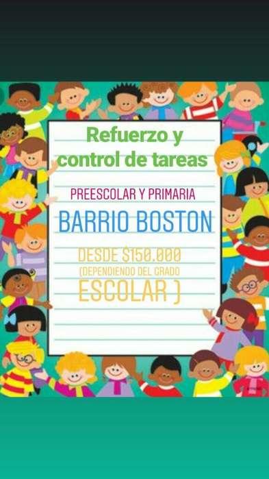 Refuerzo Y Control de Tareas Barrio Bost