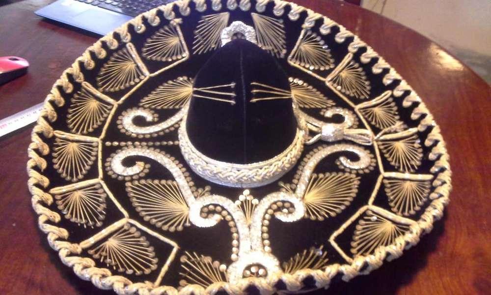 Sombrero Charro Mexicano Autentico