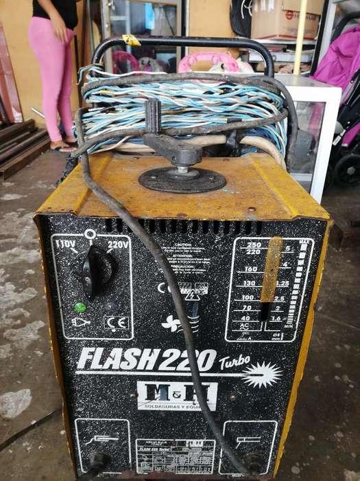 Soldador a Flash 220 Turbo a 110 V Y 220