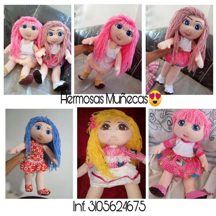 Hermosas Muñecas Personalizadas
