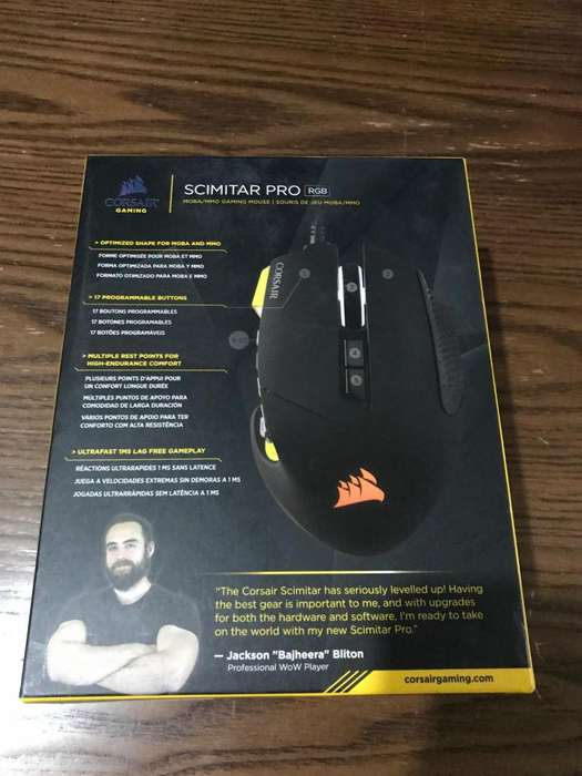 Mouse Gamer Corsair Scimitar Pro RGB 80.00