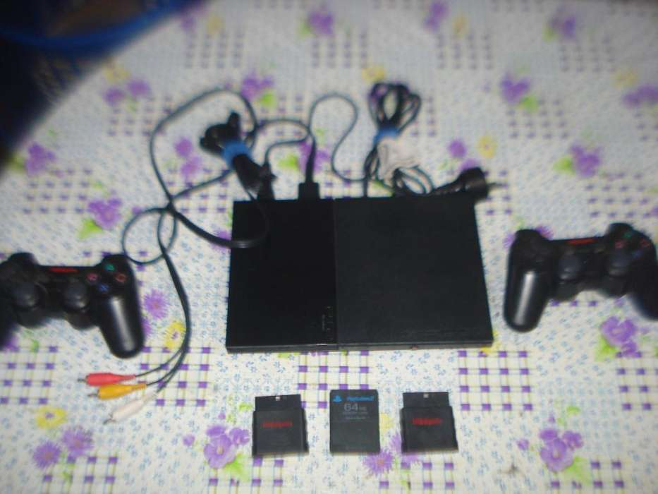 <strong>play</strong> Station 2 Scph 90010 C/dos Joystic Inhalambricos, Memor