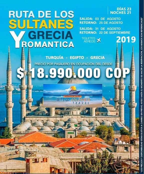 Turquía Hasta Grecia