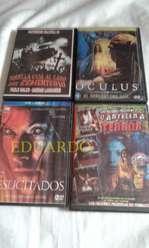 TE VENDO 8 DVD DE TERROR Y VARIADOS Y JUEGO DE PLAY 2