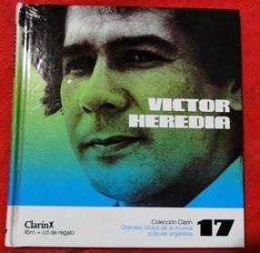 VÍCTOR HEREDIA LIBRO CD VOL17 en LA CUMBRE PUNILLA CBA