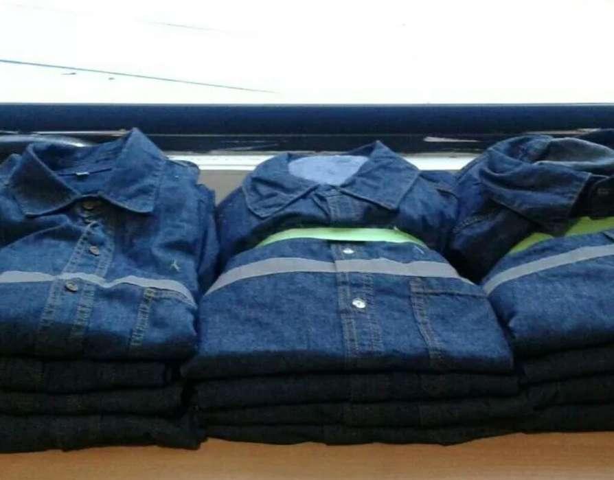 Camisas Jeans de Trabajo con Reflectivos