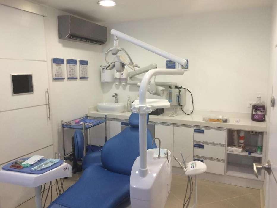 Consultorio odontológico completamente dotado por tiempo completo, medio tiempo u horas
