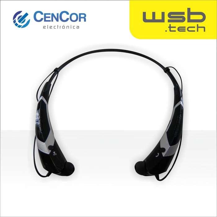Auricular Bluetooth WSB.tech! CenCor Electrónica