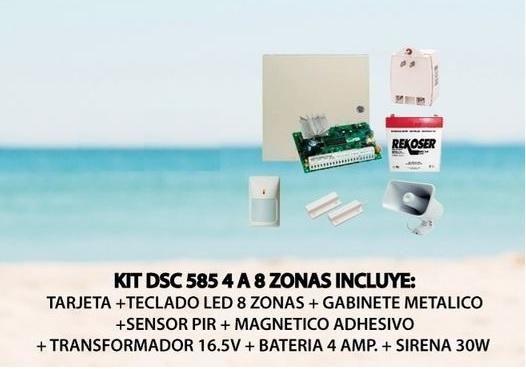 KIT DE ALRMA DSC 585