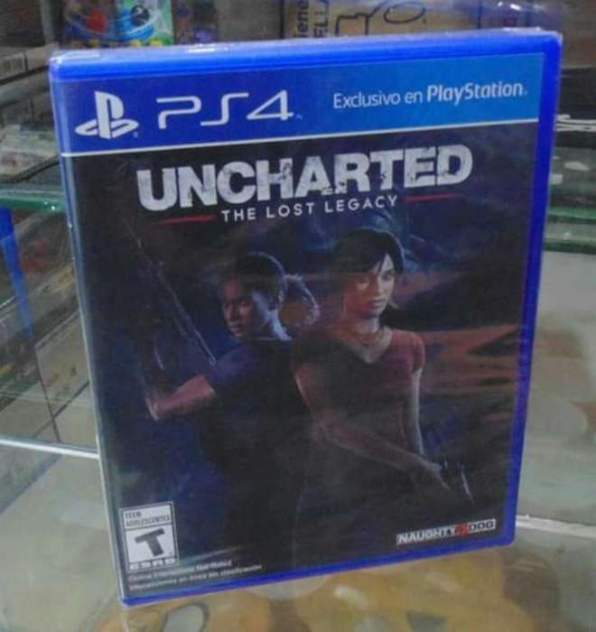 Uncharted The Lost Legacy Sellado