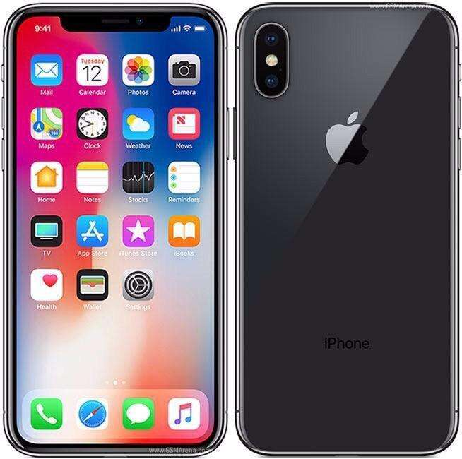 iPhone X Negro de 64 Gb