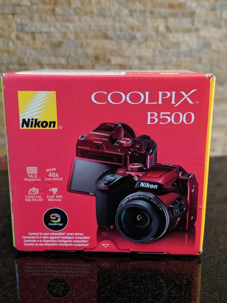Nikon Coolpix B500 Nuevo Sellado
