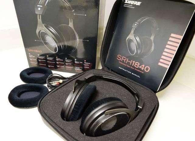 Audífonos Over Ear Shure SRH1840 en caja estado 9.9 de 10