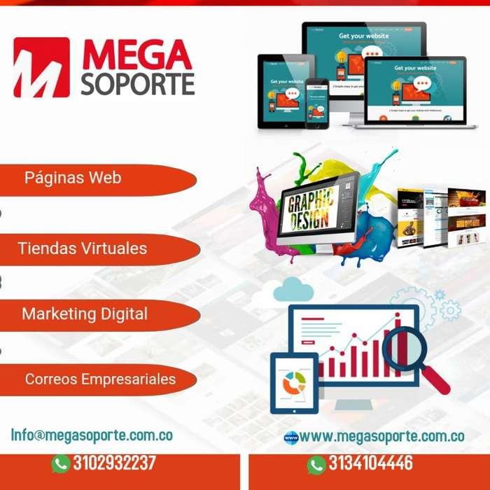 Paginas Web - Tiendas Virtuales - Social
