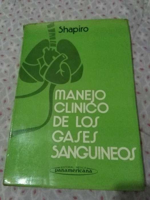 Manejo Clinico de Los Gases Sanguineos . Barry Shapiro . libro medicina