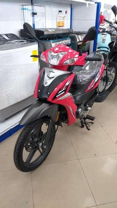 Moto caballito ranger semi-automatica 125cc 2019