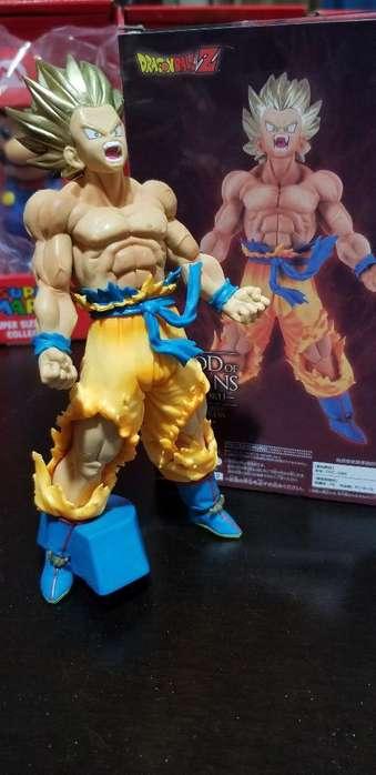 Muñeco de Coleccion Goku Fase 1