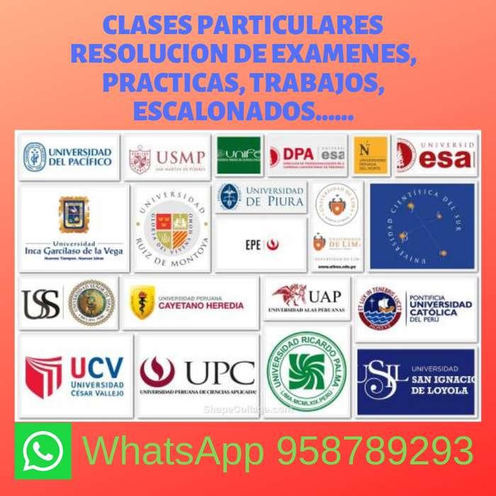 EXÁMENES PC POR WHATSAPP ESTÁTICA, RESISTENCIA DE MATERIALES, CONCRETO ARMADO, ANÁLISIS ESTRUCTURAL.