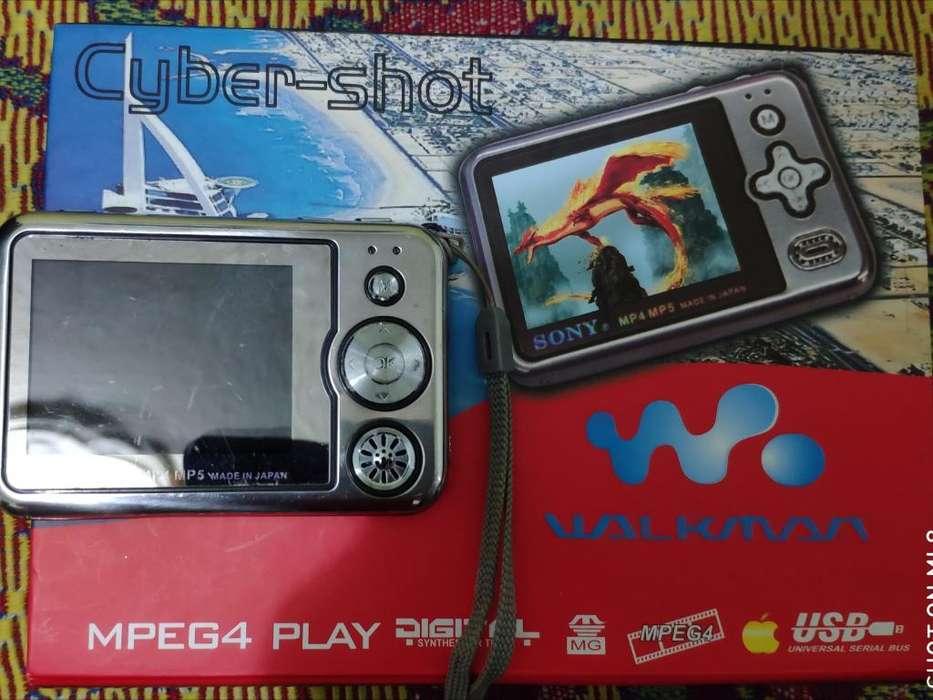 Cyber Shot Cámara Sony Mpeg4 Play