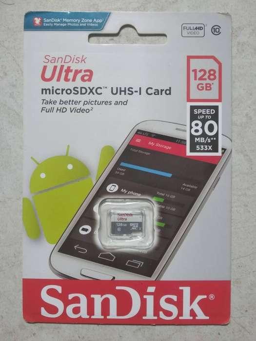 Micro SD de 128 GB SanDisk Ultra