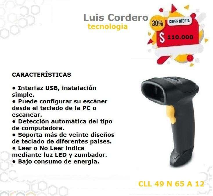 LECTOR CODIGO DE BARRAS