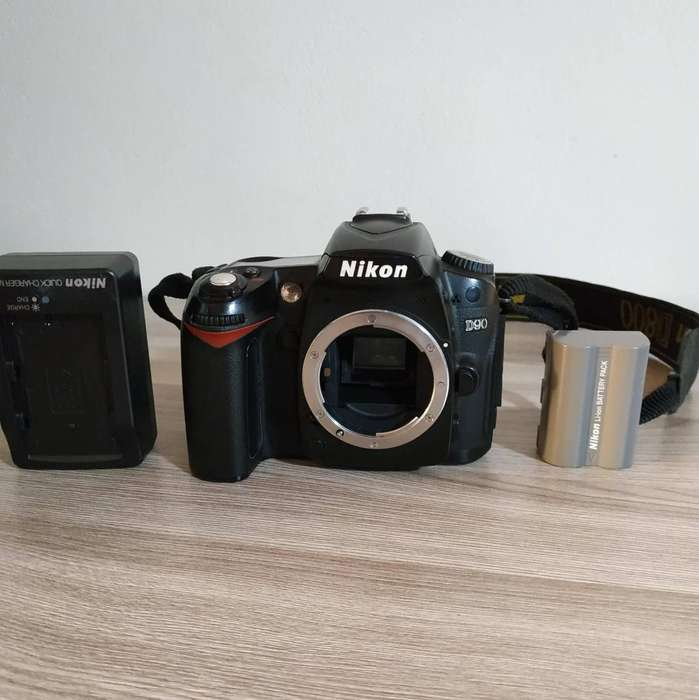 Vendo Body de Cámara SLR Nikon D90 12.3MP Digital SLR D Video cámara Solo Cuerpo Negro