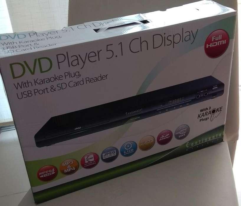 Dvd Player Continental Eléctric