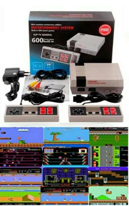 Mini Consola Tv 600 Juegos Retro Nes