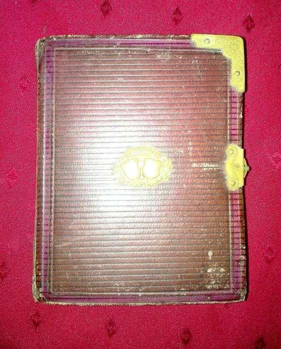 Álbum Antiguo Fotos Cart de Visit