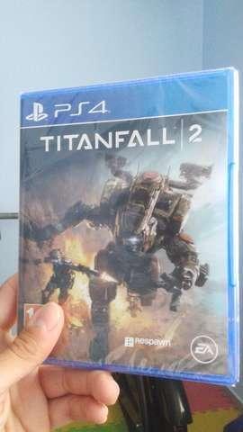 Titanfall 2 nuevo sellado. recibimos tarjetas. local céntrico. juegos play 4.